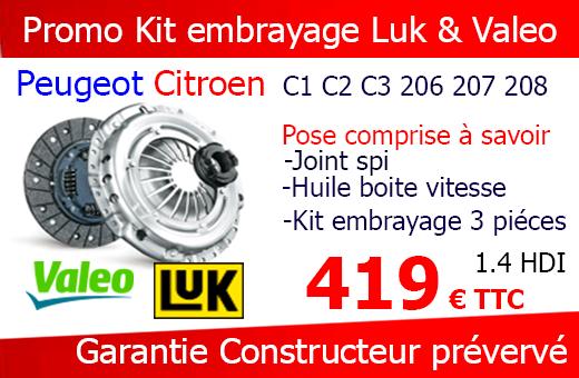 Forfait kit embrayage